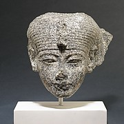 Head of a Goddess(?)
