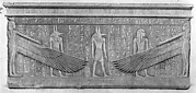 Facsimile of the south side of the sarcophagus of King Haremhab