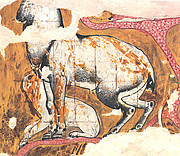 Facsimile painting from the Tomb of Qenamun