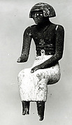 Statuette of a Seated Man