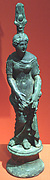 Isis-Aphrodite clasping a garment rolled about her hips