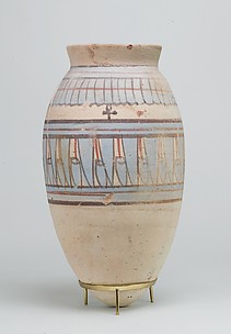 Blue-painted Jar from Malqata