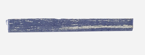 Rod of Opaque Blue Glass