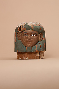 Canopic jar lids of Ukhhotep