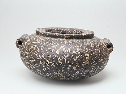Stone Jar with Lug Handles
