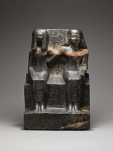 Pair Statue of Neferkhawet and Rennefer