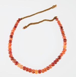 Carnelian Necklace of the Child Myt