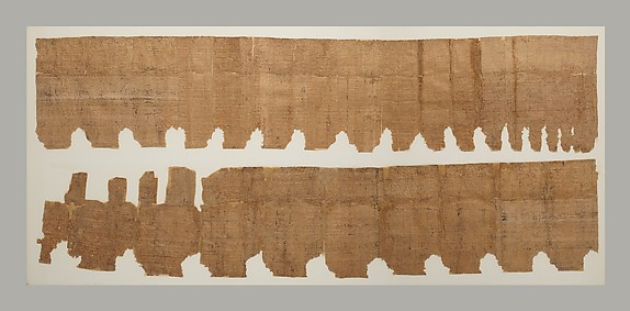 Papyrus, list of divinities