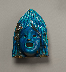 Theatrical mask for offering
