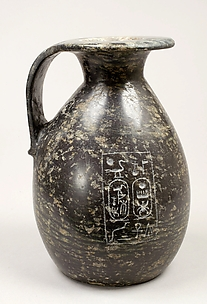 Piriform jug with cartouche of Thutmose III