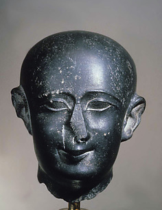 Head, male priest