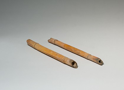 Sharpened Sticks from Tutankhamun's Embalming Cache