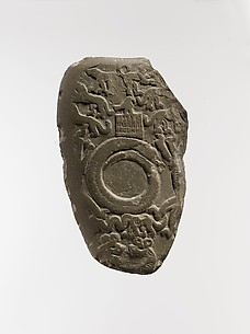 Carved ceremonial palette