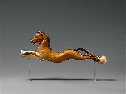 Whip Handle in the Shape of a Horse