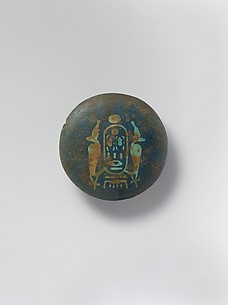 Knob (?) with the cartouche of Aya