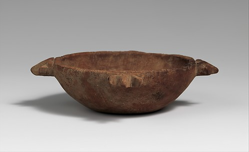Canaanite-Type Dish with Ram Protomes