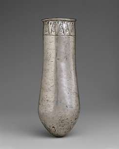 Situla with floral decoration