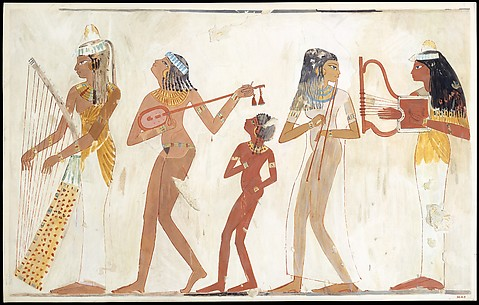 Female Musicians, Tomb of Djeserkareseneb