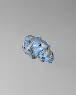 Handle Depicting a Lion Subduing a Nubian