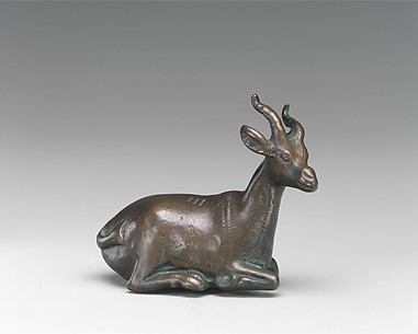 Weight of 3 Deben in the Shape of a Gazelle