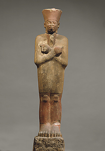 Statue of King Mentuhotep II in the Jubilee Garment