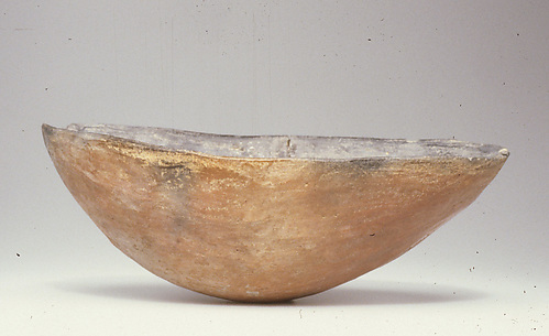 Black-topped red ware bowl