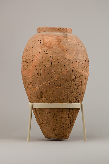 Rough ware jar