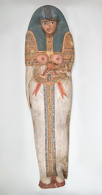 Cartonnage of a Woman