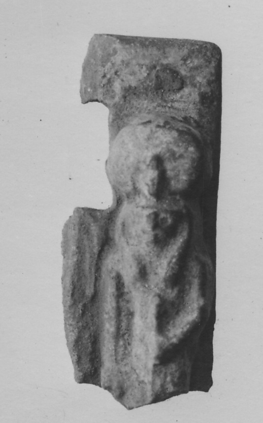 Fragment of a plaque with a group of gods
