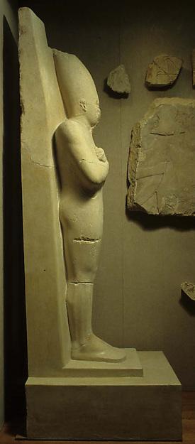 Osiride statue of Senwosret I