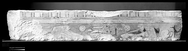 Relief block from a temple of Amenemhat I