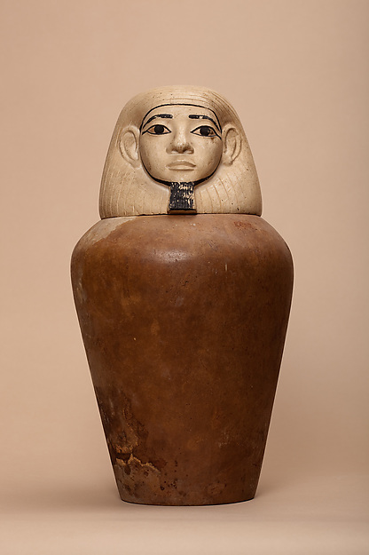 Canopic jar of the lady Nephthys