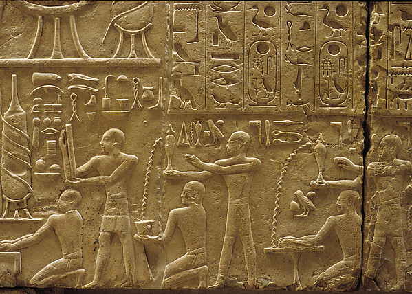Relief on the North Wall of a Chapel of Ramesses I