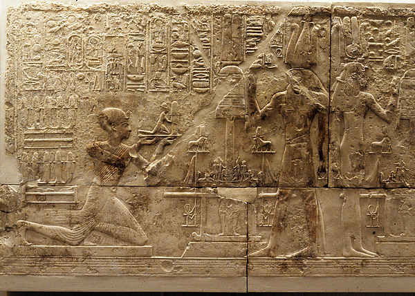 Relief on the West Wall of a Chapel of Ramesses I