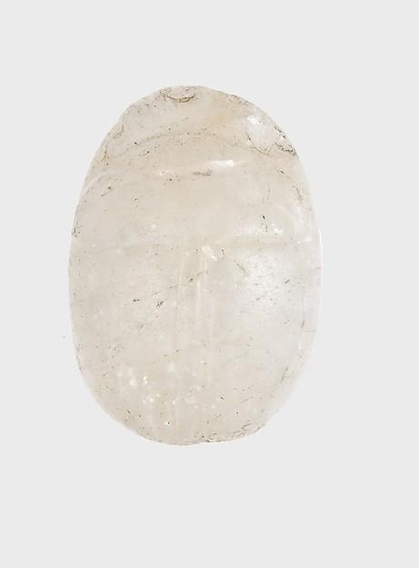 Uninscribed Scarab from Malqata