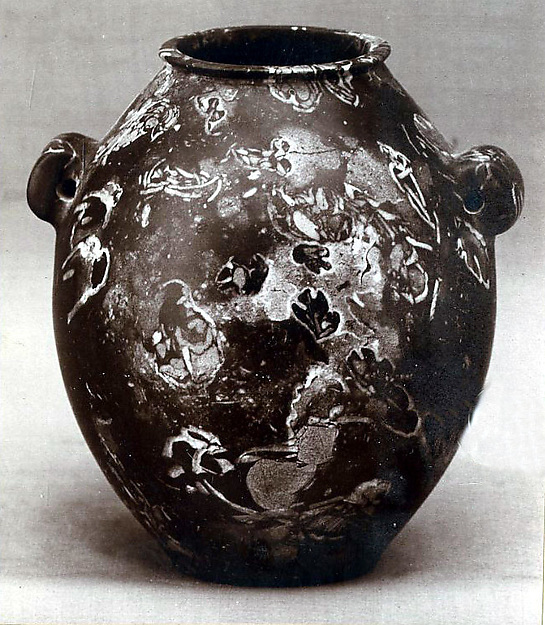 Shouldered jar with two lugs