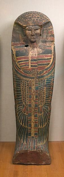 Rishi coffin of the Lady Rini