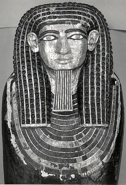Anthropoid coffin of Hapiankhtifi