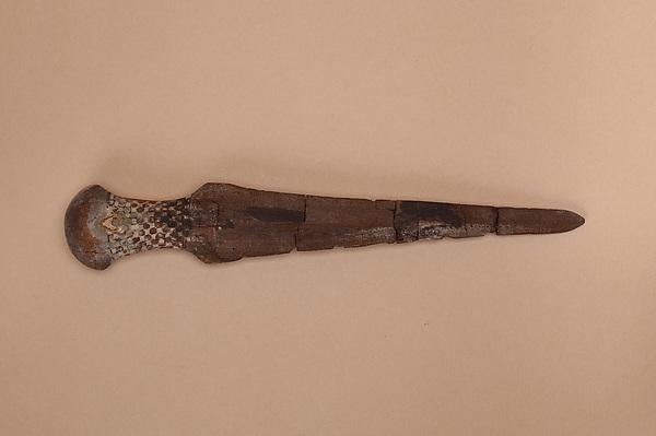 Model blade of a dagger