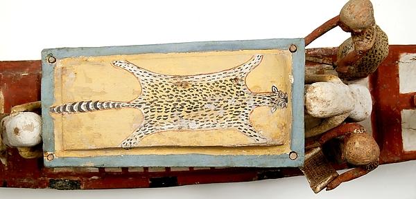 Model boat of Ukhhotep