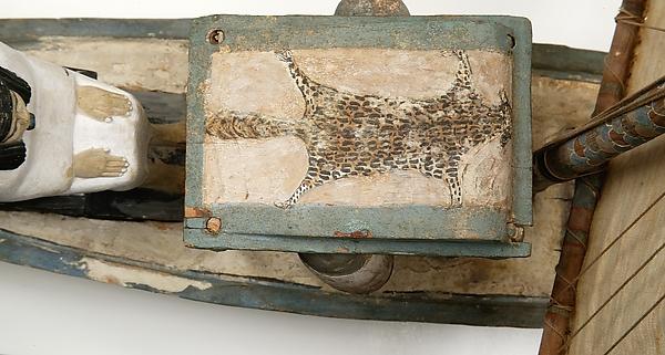 Model Funerary Bark of Ukhhotep