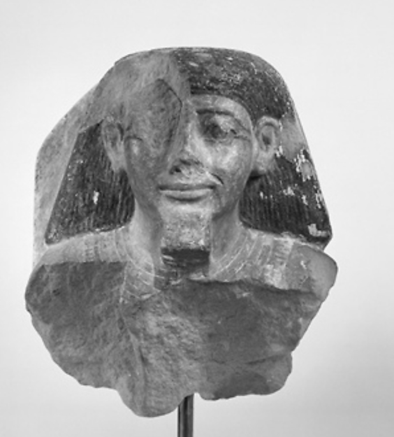 Male Bust from a Pair Statue