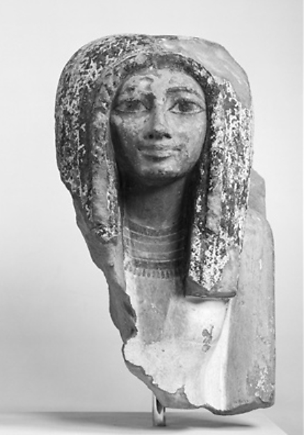 Female Bust from a Pair Statue