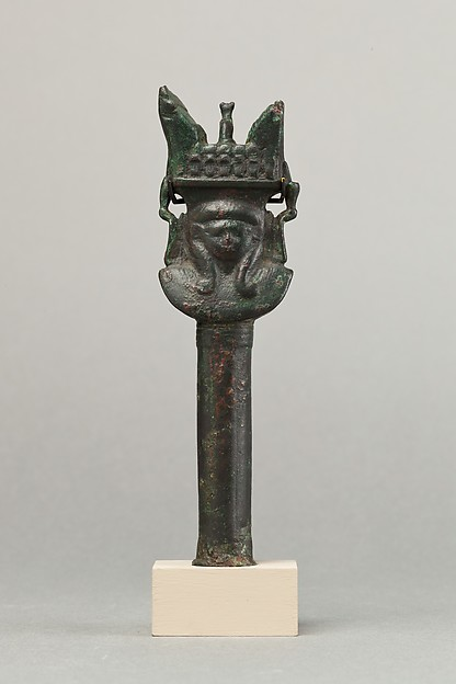Handle of sistrum