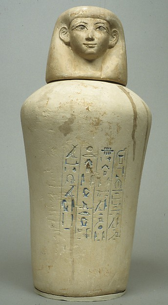 Canopic Jar of Manuwai