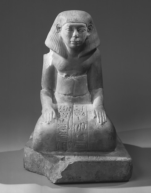 Statuette of the Overseer of Priests Ameny