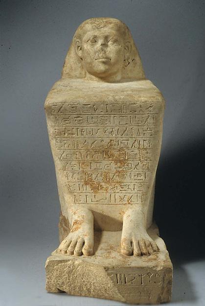Block Statue of Ankhwennefer
