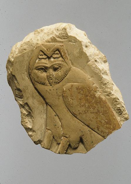 Relief, owl