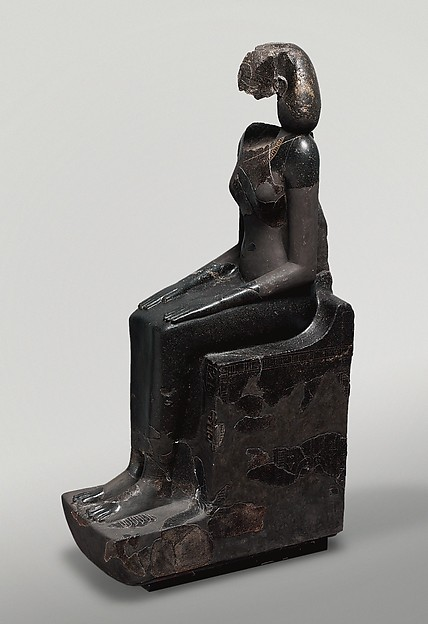 Hatshepsut Wearing the khat Headdress