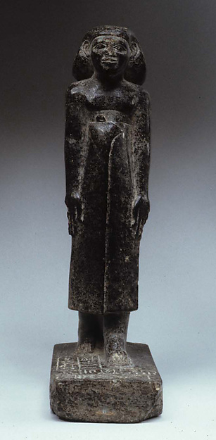 Statuette of Imenytirry (reading?) in long kilt